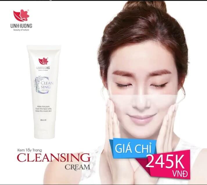 Kem tẩy trang Clean Sing Cream Linh Hương